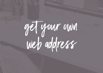 Get Your Own Web Address