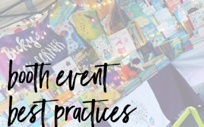 Booth Event Best Practices