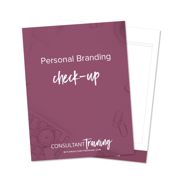 Personal Branding Mockup Photo on purple background
