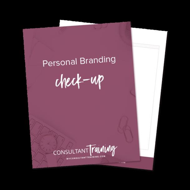Personal Branding Mockup Photo on purple background