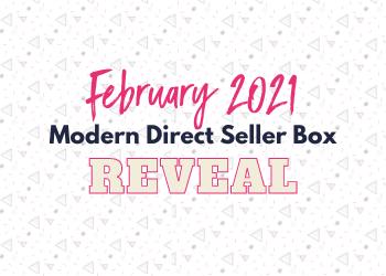 February Modern Direct Seller Box Reveal: Love Your Biz