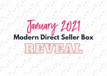 January Modern Direct Seller Box Reveal: Goal Smasher